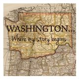 Story Washington Art Print