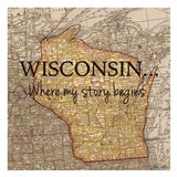 Story Wisconsin Art Print