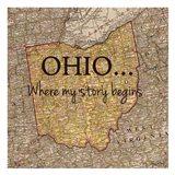 Story Ohio Art Print