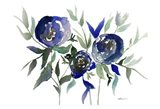 Blue Roses 2 Art Print