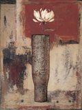 Solitaire Bloom I Art Print
