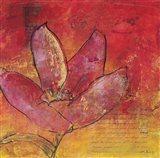 Scripted Bloom 3 Art Print