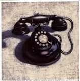 Telephone - Noir Art Print