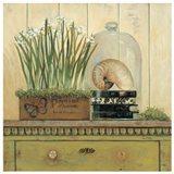 Vintage Garden 2 Art Print