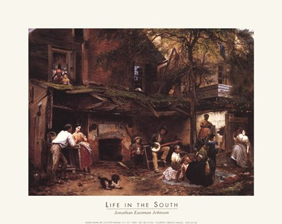 Life In The South Art Print by Unknown