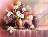 Calla Lily Blossoms Art Print