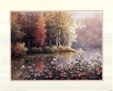 Serene Lake Art Print