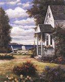 Scenic View Art Print