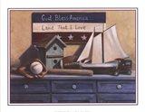 Still Life With Sailboat Art Print
