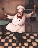Chef III Art Print