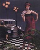 Flapper II Art Print