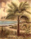 Island Palm II Art Print
