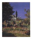 Jardin En Fleurs Art Print