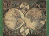 Map Nova Orbis Art Print