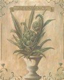 Artichoke - Abundance Art Print