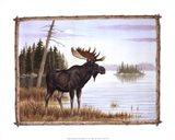 Mighty Moose Art Print
