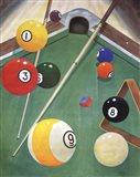 Billiards I Art Print