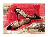 Best Black Heels Art Print