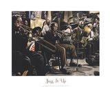 Jazz Band Art Print