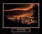 Vision-Gold Sky Art Print