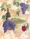Toscana - Bella Vino Art Print