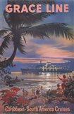 Caribbean Art Print
