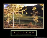 Golf-Success Art Print