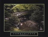 Communicate - Bridge Art Print
