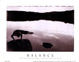 Balance-Yoga Art Print
