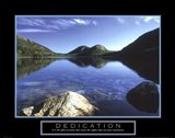 Dedication - Jordan Pond Art Print