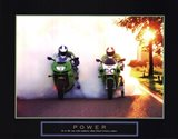 Power - Motorcycles Art Print