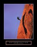 Determination - Climber Art Print