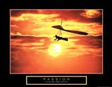 Passion - Hang Glider Art Print
