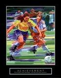 Achievement - Soccer Art Print