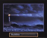 Possibilities - Lighthouse Art Print
