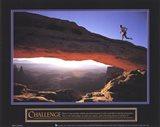Challenge-Runner Art Print