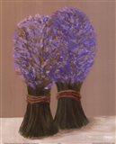 Purple Flowers In String Art Print