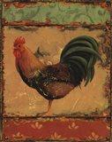 Rooster Portraits II Art Print