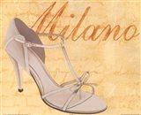 Milano Shoe Art Print