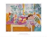 Still Life with Sleeping Woman Art Print