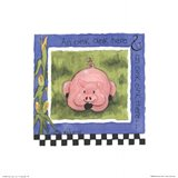 Oink Oink Art Print