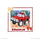4 X 4 Truckin Art Print
