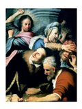 Christ Driving the Moneychangers from the Temple, 1626 Art Print