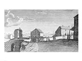 Reception of Washington at Trenton, New Jersey, April 21, 1789 Art Print