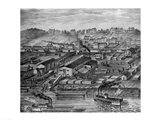 Soho Saw and Planing Mills and Barge Yards Art Print