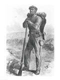 The Escaped Slave in the Union Army Art Print