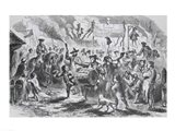 The Stamp Act Riots at Boston Art Print
