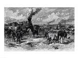 After the Battle of Seven Pines, June 1862 Art Print