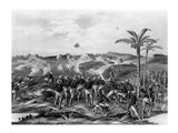 'How the Day was Won', Charge of the Tenth Cavalry Regiment at San Juan Hill, Santiago, Cuba Art Print