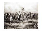 Rough Riders: Colonel Theodore Roosevelt Art Print